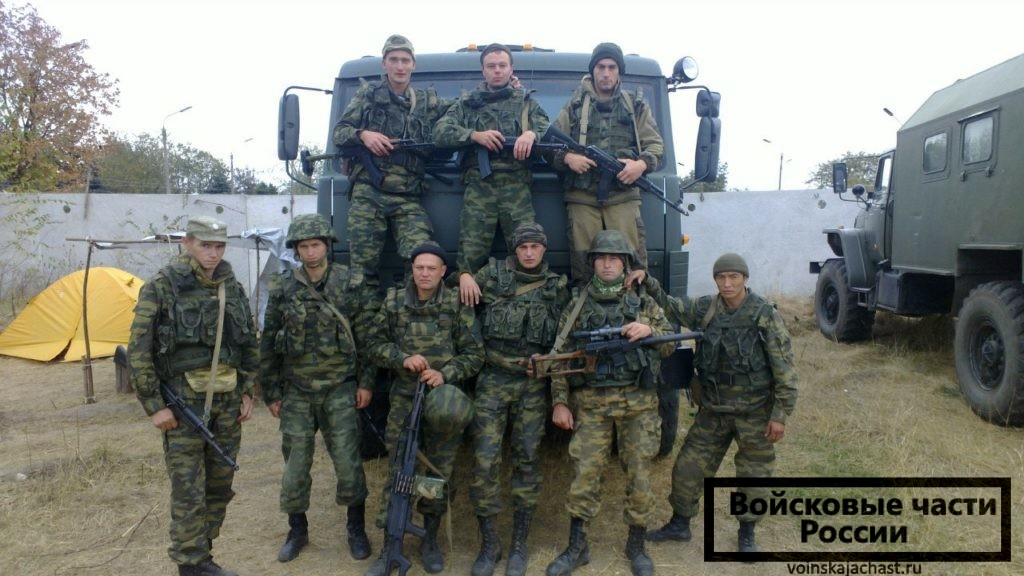 На территории военного городка гарнизона северный 46 оброн